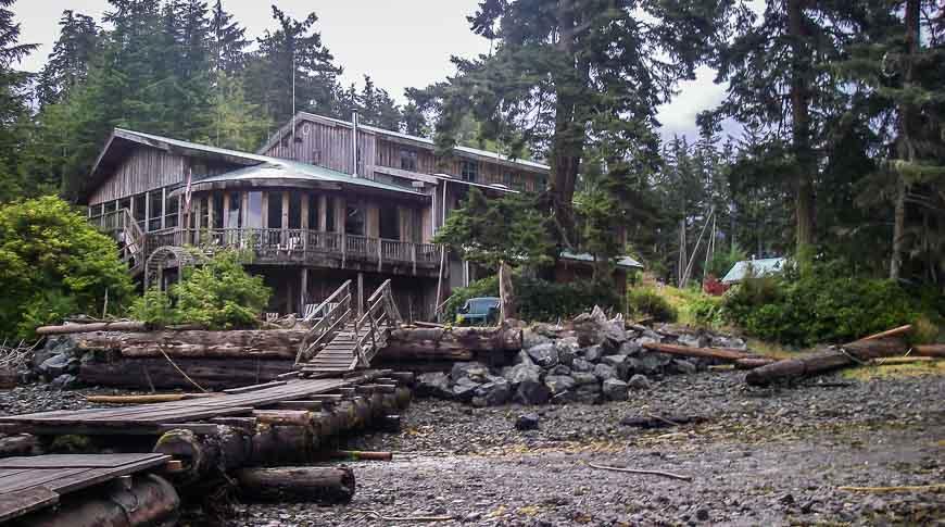 Hidden Cove Lodge near Telegraph Cove