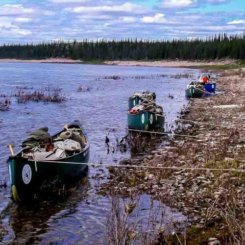 Thelon River canoe trip