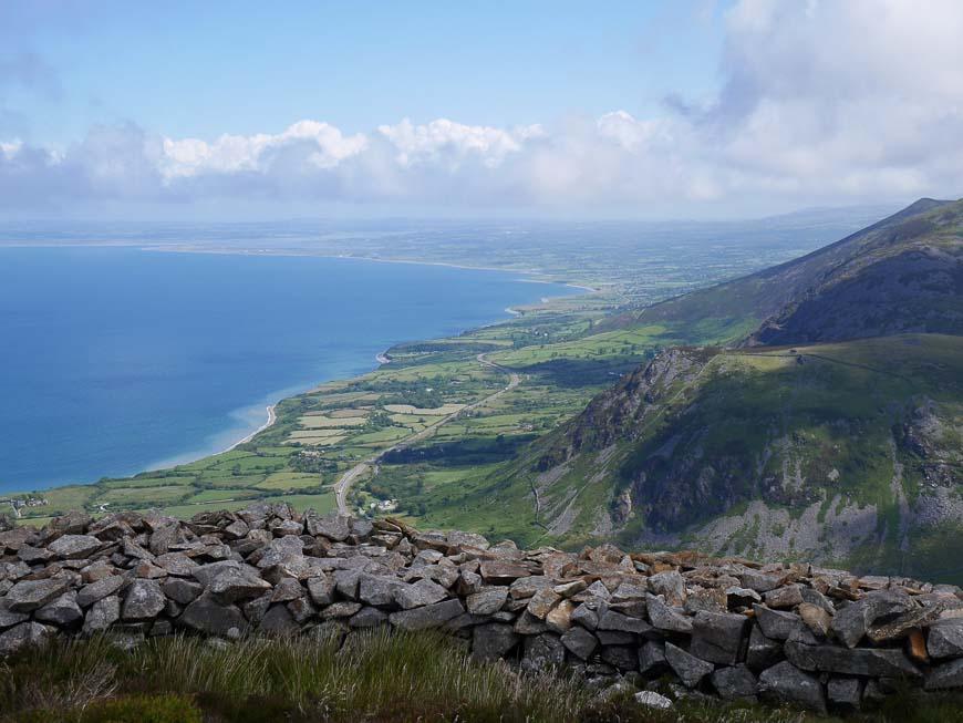 Spectacular scenery on the Llyn Coastal Path