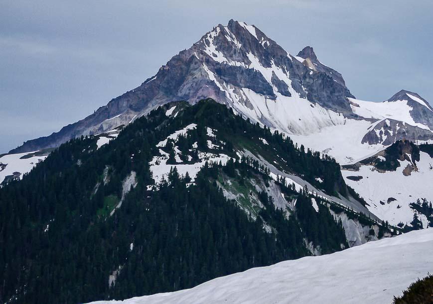 Columnar Peak - just 20 minutes past Red Heather Shelter