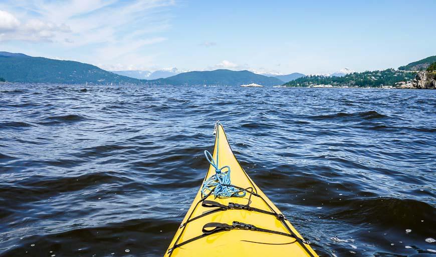 Vancouver Day Trip: Kayaking Around Passage Island