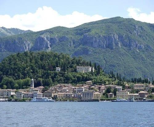 """Bellagio, Italy on Lake Como"""