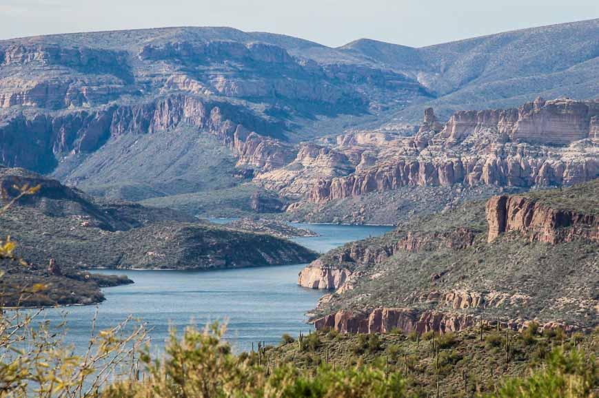 Stunning Apache Lake