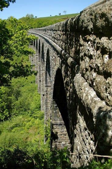"""The lake viaduct on the Granite Way"""