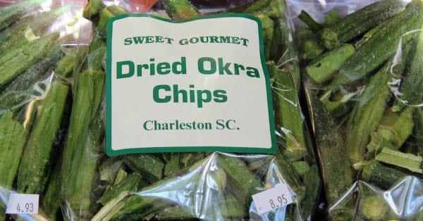 """Dried okra anyone?"""