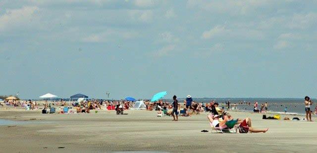 """""""It's a good life on the beach"""""""