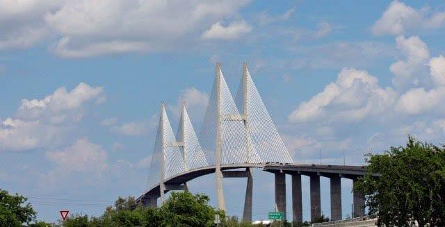 """The bridge to Jekyll Island"""