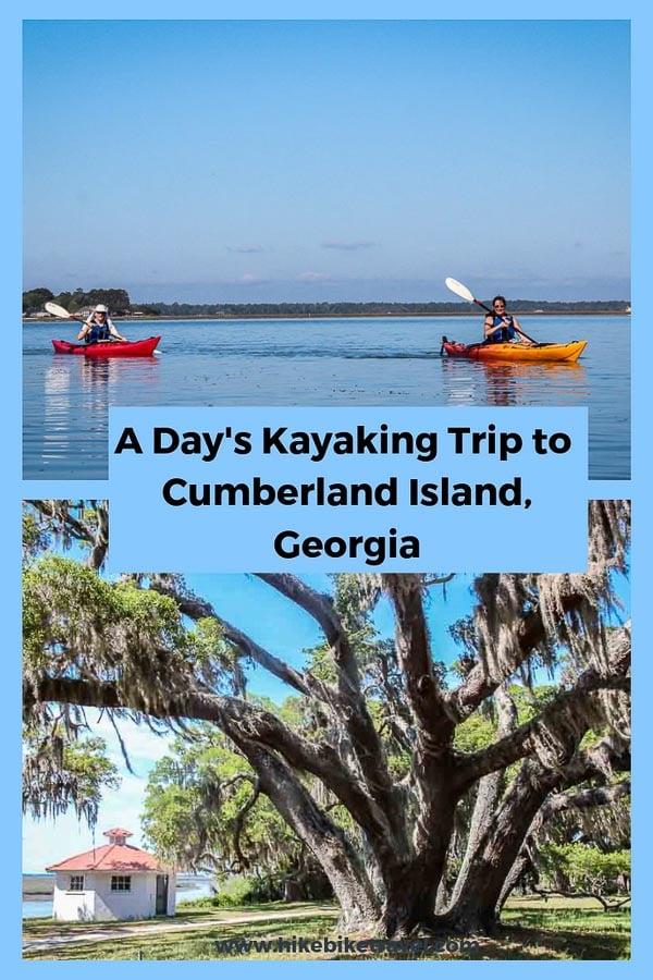 Kayaking trip to Cumberland Island, Georgia