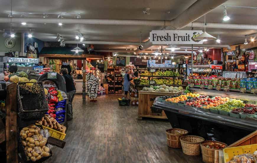 A stop a DeMilles Farm Market