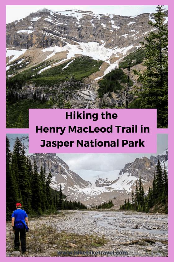 A hike on the Henry MacLeod Trail in Jasper