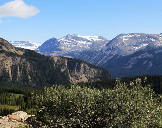 """""""Views near the far end of the Iceline Trail"""""""