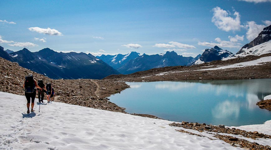 Hiking the Spectacular Iceline Trail near Field, BC - Hike Bike Travel