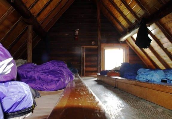 """Dormitory style sleeping"""