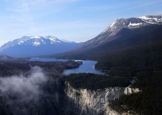 """""""Hunlen Falls and Taylor Lake"""""""