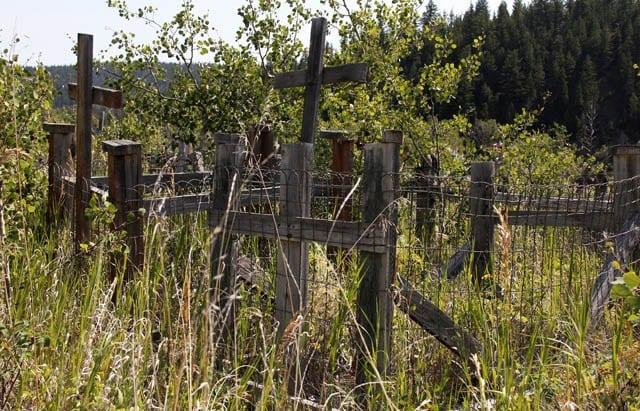 """Native cemetery"""