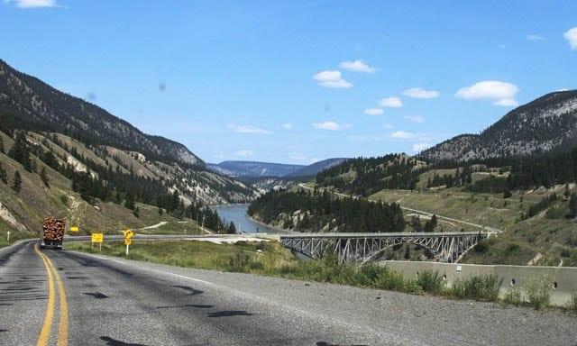 """""""Bridge over the Fraser River"""""""
