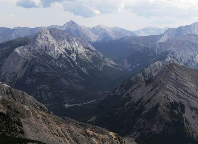 """Big vistas from the ridge top"""