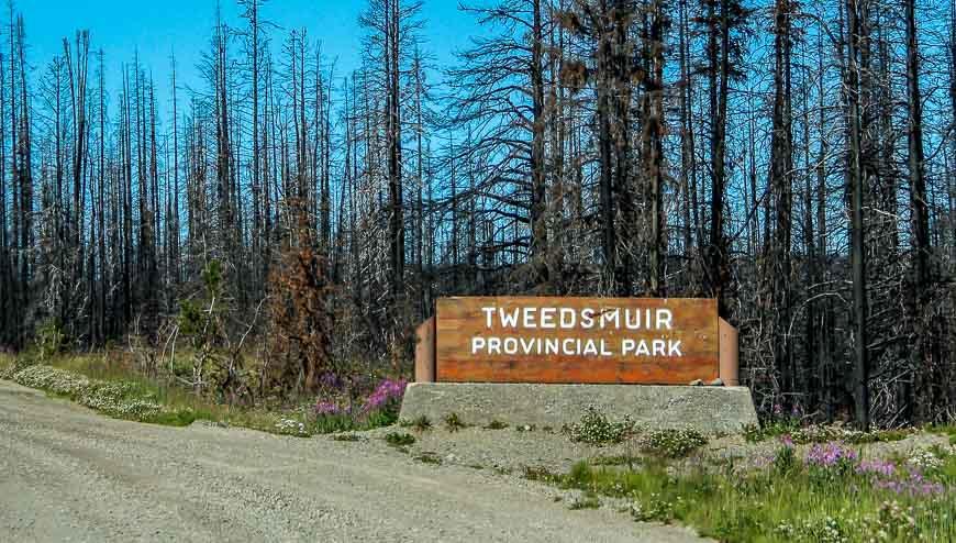 Welcome to Tweedsmuir Provincial Park in BC