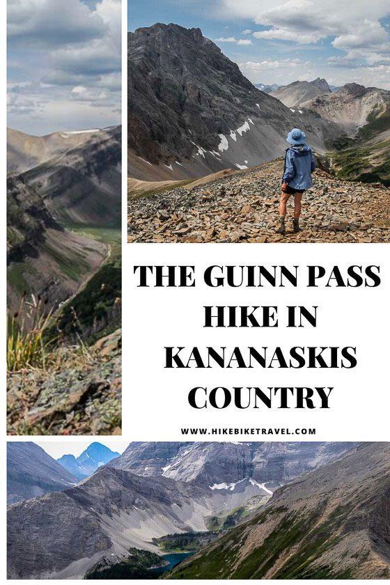 The Guinn Pass hike in Kananaskis Country