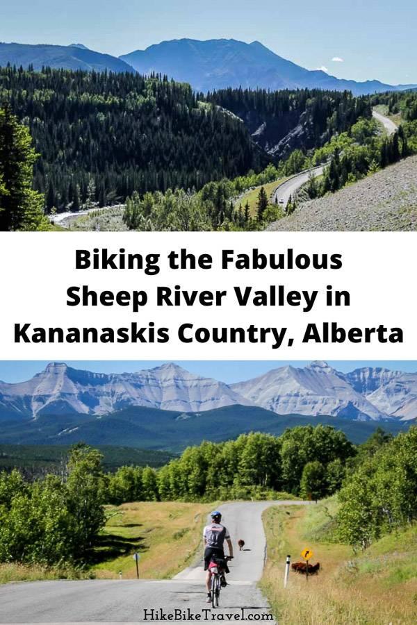 Biking the fabulous Sheep River Valley in Alberta's Kananaskis Country