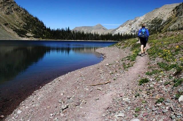 """Hiking around Crypt Lake"""