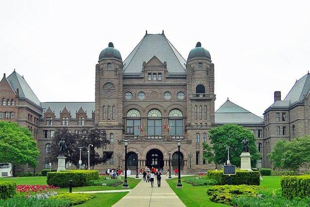 """""""Queen's Park in Toronto"""""""