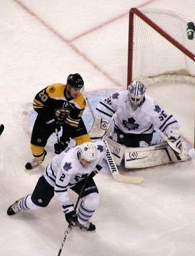 """A Toronto Maple Leaf's Hockey Game"""