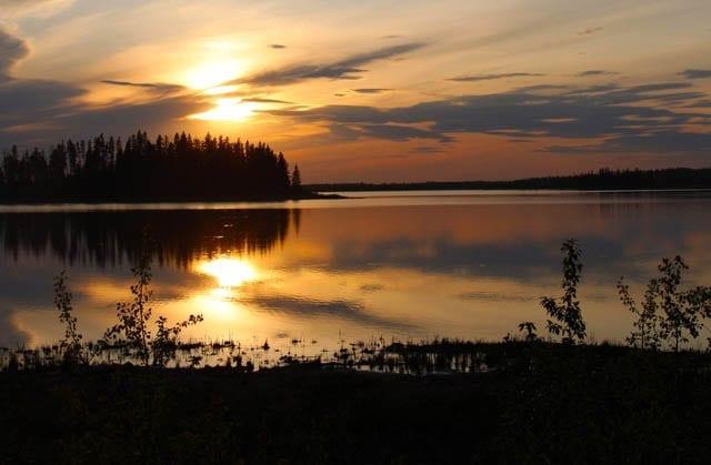 """""""The golden hour at Elk Island National Park"""""""
