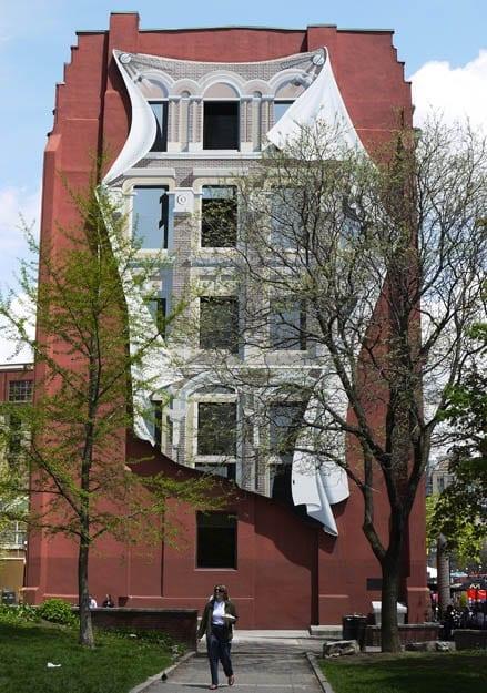"""""""The Flatiron Mural by Canadian artist Derek Besant"""""""