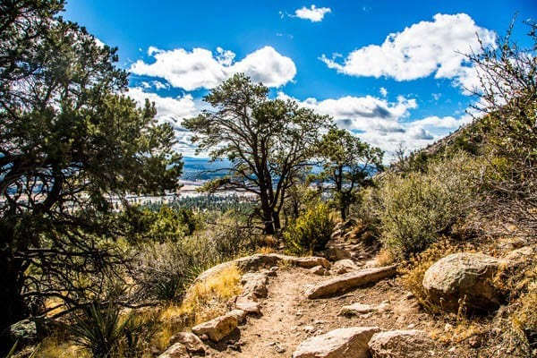 """Flagstaff hikes with another great view along the trail"""""""