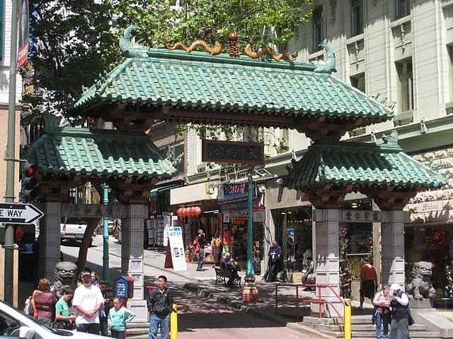 """The Chinatown Gate"""