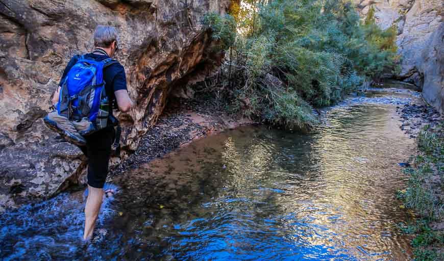 Exploring Deer Creek