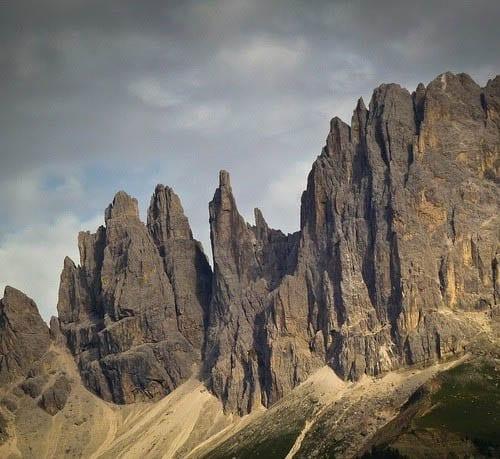 """Dolomites Catinaccio Mountain Range"""