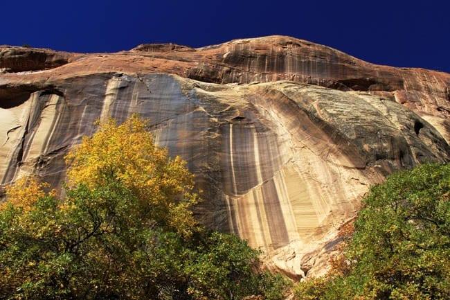 """Coloured cliff faces"""