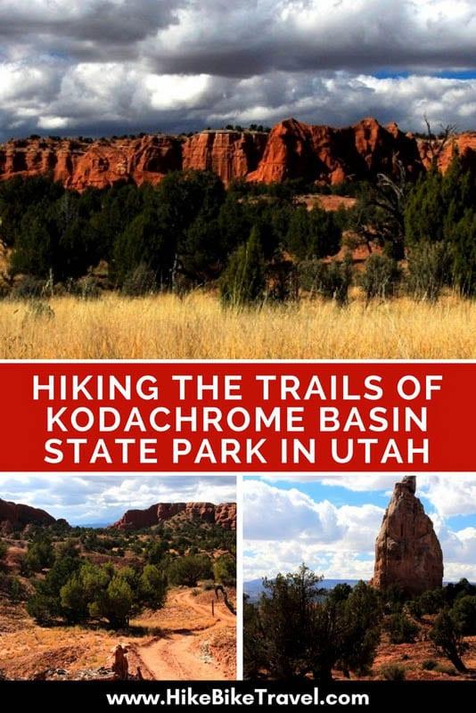 Hiking the Trails of Kodachrome Basin State Park in Utah