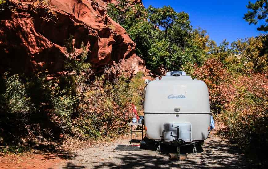 Small but pretty campsite