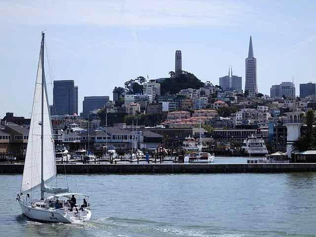 """""""The San Francisco skyline"""""""