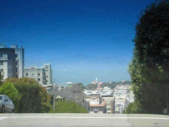 """San Francisco steep street"""