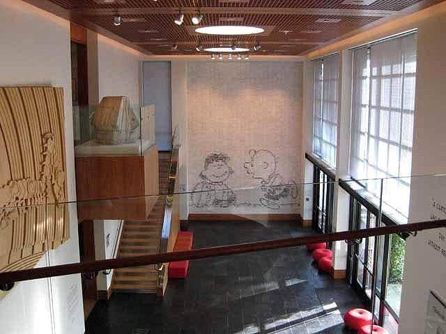 """Interior of the Schulz Museum"""