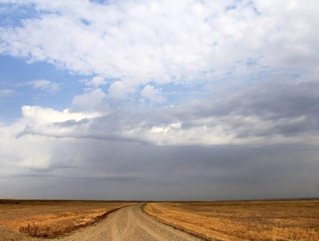 """""""Big skies in Grasslands National Park"""""""