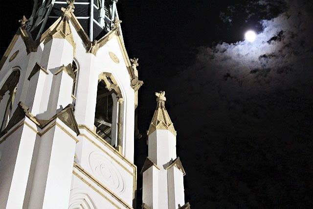 """Savannah's haunting looking night sky"""