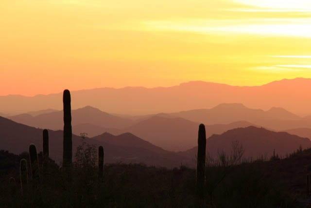 """""""Sunset over the desert outside of Scottsdale"""""""
