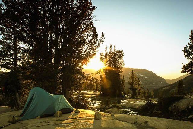 """""""Stunning sunset in Teton Wyoming camp"""""""