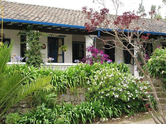 """""""Outside of Hacienda Pinsaqui"""""""