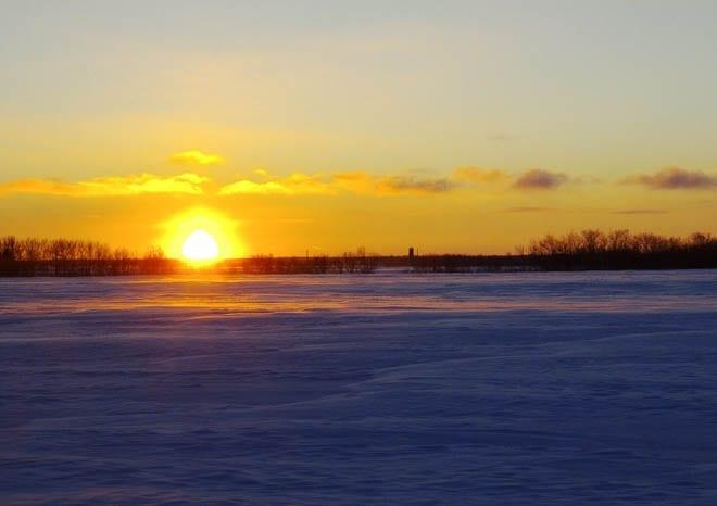 """""""A prairie sunset"""""""