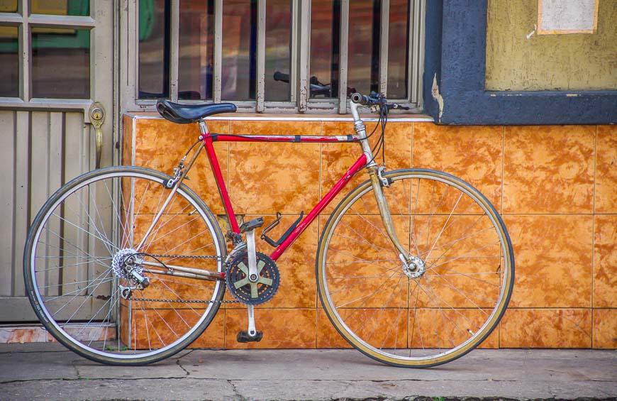 Biking seemed popular on weekends