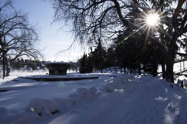 """""""Pretty trail alongside the South Saskatchewan River"""""""