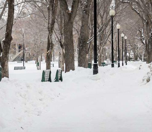 Saskatoon, Saskatchewan in winter