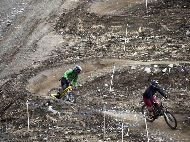 """Mountain biking in Whistler"""