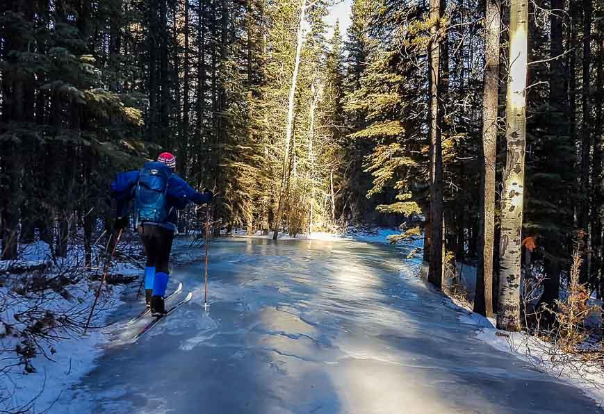 Skiing in Kananaskis: Ribbon Creek to Skogan Pass